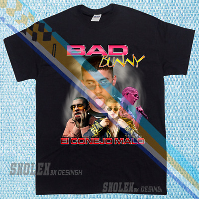 991baee34502c NEW LIMITED Edition Inspired By BAD BUNNY Tour Merch Hip Hop Rare T-SHIRT