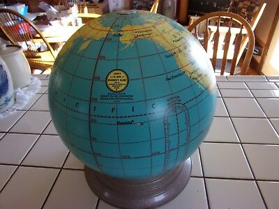 Vintage World Globe CRAM'S BEGINNER'S 12 Inch with Base PERFECT