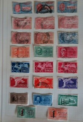 Italy Express Stamps + Airmail Stamps