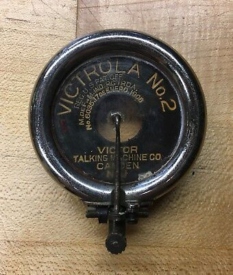 Victor Victrola No. 2 Talking Machine Phonograph Reproducer Complete