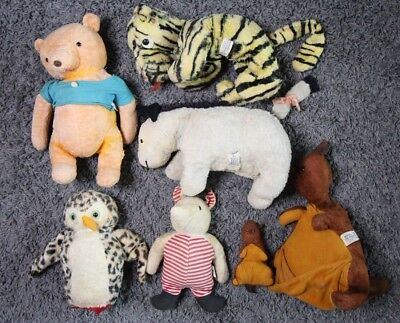 VINTAGE Winnie the Pooh 1963 WHOLE COLLECTION DISNEY Tigger Piglet Eeyore LOT