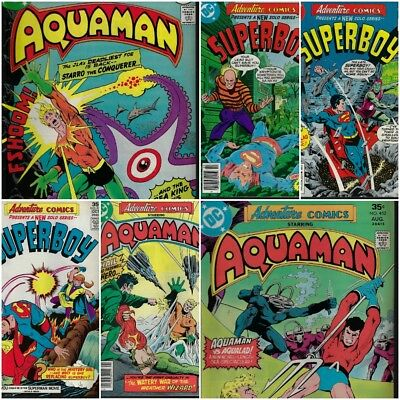 Adventure Comics 450-455 (DC,1977-1978)