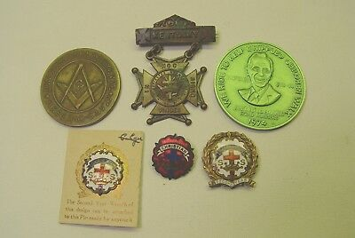 Lot Of Masonic Pins And Insignias.