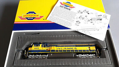 Athearn Genesis Sd70Mac Alaska 4015 Smooth Runner Looks Great Boxed Ho Gauge(Ja)