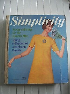 Vintage Sewing Pattern Store Counter Catalog Simplicity 1964 Spring Fashion