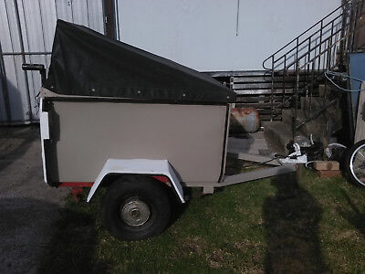 Trailer Small with tarpaulin cover