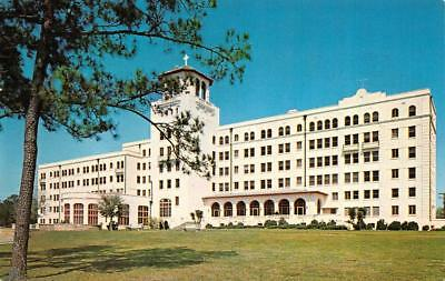 PASS CHRISTIAN, MS Mississippi OBLATE FATHER'S SEMINARY~Pine Hills 1966 Postcard
