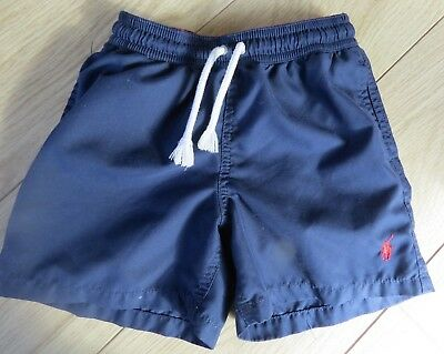 Pair Of Age 5 Ralph Lauren Swim Shorts/swimming Trunks  Blue. Great Condition