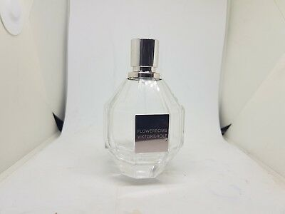 Flowerbomb Viktor & Rolf Empty Bottle used no fragrance on it With cap / Unbox