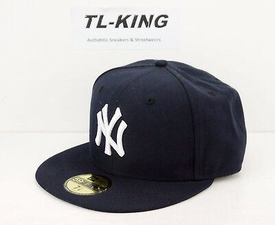 bd096f2afa01e NEW ERA 59FIFTY Hat MLB New York Yankees Vienna Navy Light Blue ...