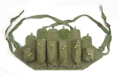 Collectibles Surplus Chinese Army Type 81 Chest Rig Mag Pouch Green 7.62 mm