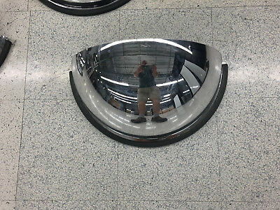 """#1  industrial rated 16"""" diameter acrylic safety security half dome mirror"""