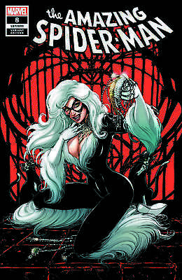AMAZING SPIDER-MAN 8 LGY 809 JOYCE CHIN BLACK CAT VARIANT 1st THIEVES GUILD HOT!