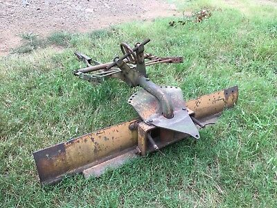Allis Chalmers snap coupler blade, 6 foot with two 12 inch extensions.