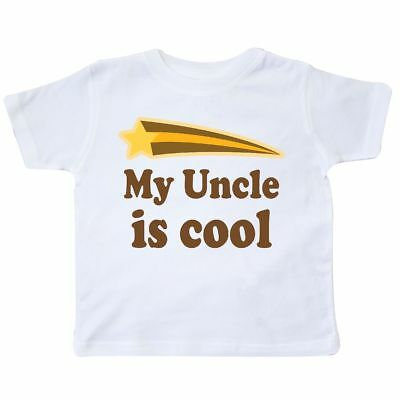 Inktastic My Uncle Is Cool Nephew Toddler T-Shirt Gift From Childs Boys Kids Kid