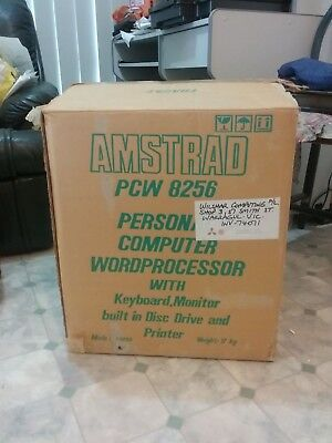 Amstrad PCW 8256 vintage personal computer word processor from 1970's