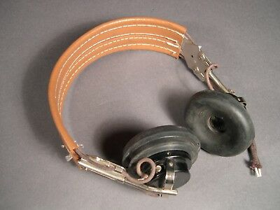 WWII/Korea U.S. Army Signal Corps HB-7 Headset with ANB-H-1 Receivers