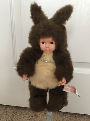 Anne Geddes Squirrel Baby Doll