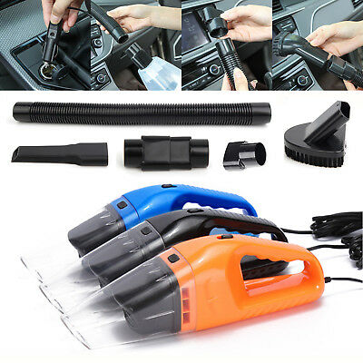 12V Portable Mini Car Vacuum Cleaner Rechargeable Handheld Cleaner Wet and Dry