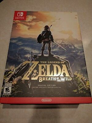 The Legend of Zelda Breath of the Wild - Special Edition - New, NM - Sealed