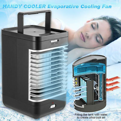 Portable Air Conditioner Fan Conditioning Cooler Fan Cooling Humidifier Home