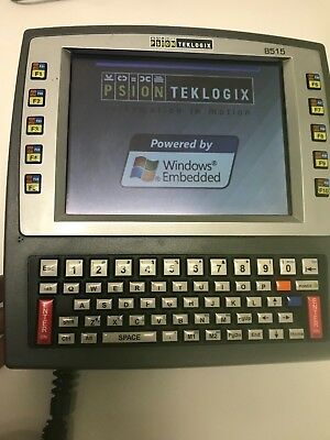 Psion Teklogix 8515, Windows CE5, Touch, serial  port,Tekterm NO AC INCLUDE