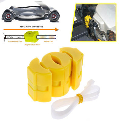 2pcs Universal Magnetic Gas Fuel Saver for Car Motorcycles Truck Reduce Emission