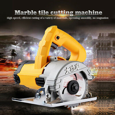 220V Household High Power Stone slotting Machine Electric Saw for Water /Tile