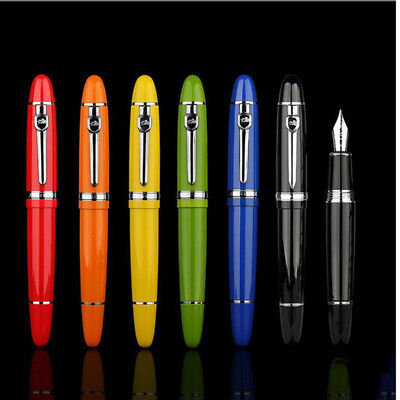 Jinhao 159 Smooth Classic Metal Clip Fountain Pen Fine 0.5mm Nib Writing Gift