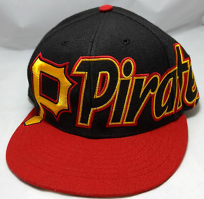 new concept a785f cf398 ... best pittsburgh pirates hat cap 47 brand snapback black red adult  adjustable mlb df061 f6cb7