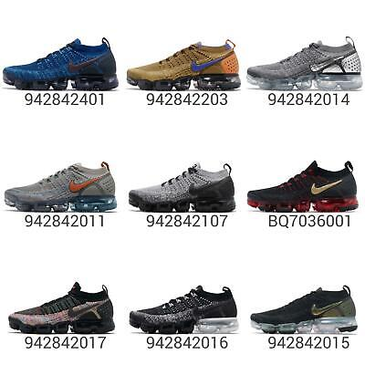 7127ca0b67 Nike Air Vapormax Flyknit 2 II FK 2.0 Men Running Shoes Sneakers Trainers  Pick 1