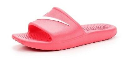 67a5b1448 Nike Wmns Kawa Shower Racer Pink white 832655-600 Sandals Slide Women Shoes  S-J