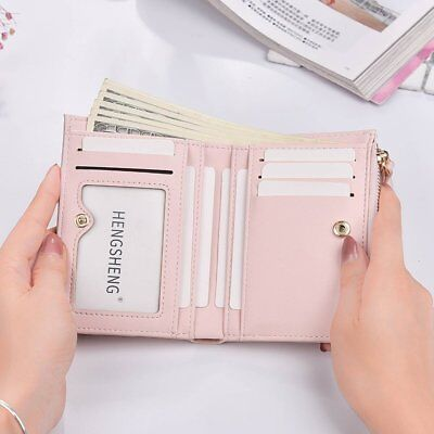 Small Size Zipper Women Short Style Wallet For Coin Card Cash Clutch Wallet KK