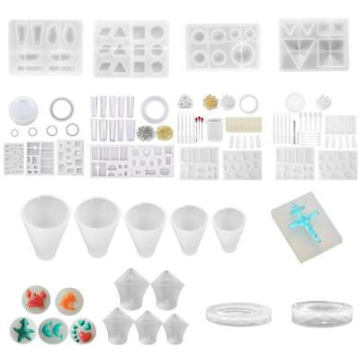 Clear Silicone Earring Bracelet Mold Making Jewelry Resin Casting Mould Tool TOP