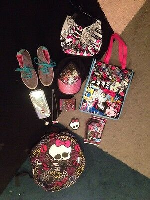 Monster High Shoes + Accessories 9+ Items