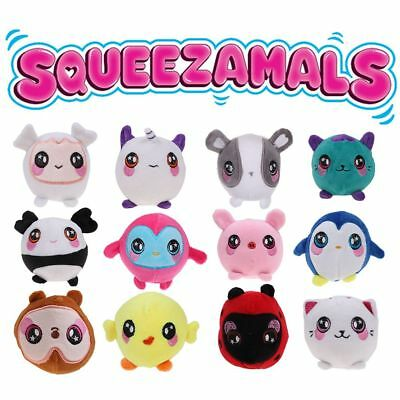 Squeeze Animal Squishies Squeezamals Peluche Squishy Slow Rising Soft Toy Cadeau