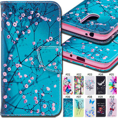 For LG K8(2018)/LG K9 Card PU Leather Stand Wallet Cover Case Protective Skin