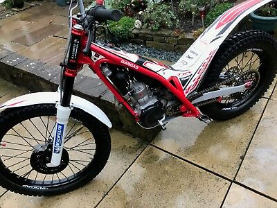 Gas Gas TXT Racing 250cc Trials Bike. Lovely 2015 Model In Great Condition