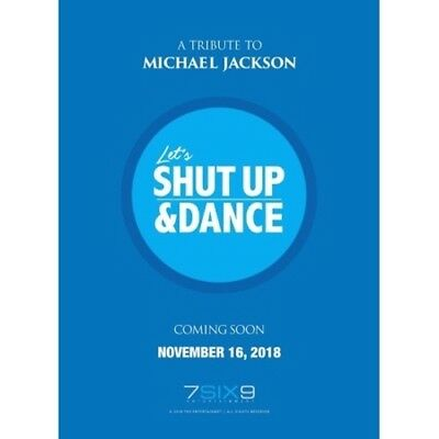 A Tribute To Michael Jackson[Let's Shut Up&Dance]CD+K-POP Poster+Frachtnummer