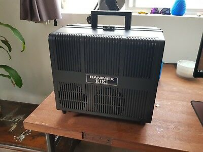 16mm SOUND MOVIE VINTAGE PROJECTOR. EIKI NT1 EXCELLENT CONDITION - SOLD AS IS
