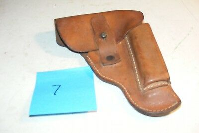 Unknown possibly WW2 Period CZ 27  unmarked Leather holster