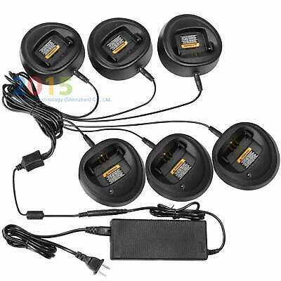 Rapid Quick Charger for Motorola CP200 CP200D CP200XLS PR400 Radio Car Adapter