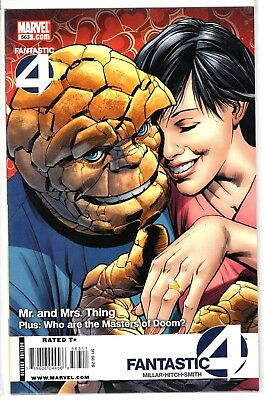 FANTASTIC 4 #563 Issue Mr. and Mrs.Thing Marvel Comic