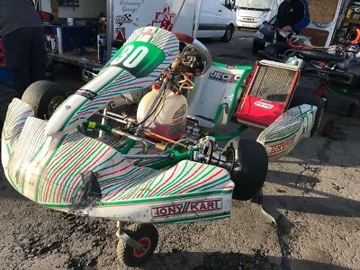 kz 125 Tony Kart with TM10C engine