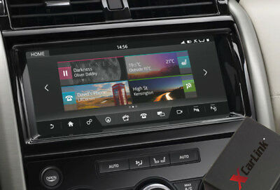 """Range Rover Velar InControl Touch 10"""" Video In Motion TV DVD on the move Adapter"""