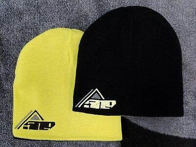 509 REVERSIBLE Black / Lime Beanie Hat Cap - One Size - NEW - 2019