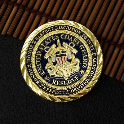 United State Navy Submarine Commemorative Round Coins Gold Souvenir Coins TOP