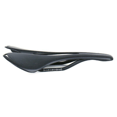 Carbon Fiber Seat Mountain Road Bike Bicycle Racing Hollow Seat Saddles Black