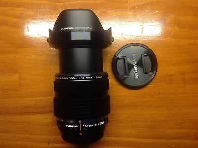 Olympus OMD M Zuiko 12-40mm f/2.8 PRO Lens in as new condition