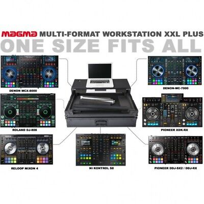 MAGMA MULTI FORMAT WORKSTATION XXL PLUS flight case rigido x consolle controller